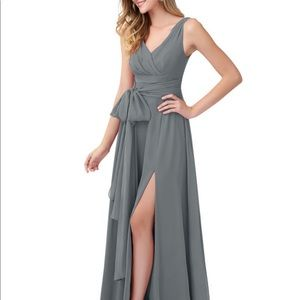 Azazie Bianca Bridesmaid Dress- Size 4